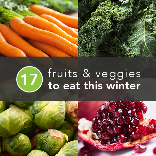 Winter fruits & veggies