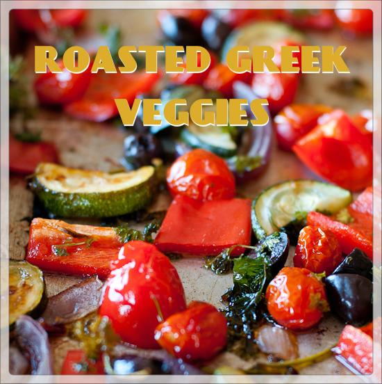 roasted greek veggies